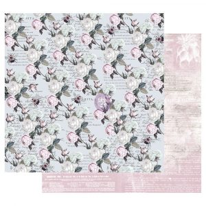 Poetic Rose 12x12 Sheet - Buzz Words
