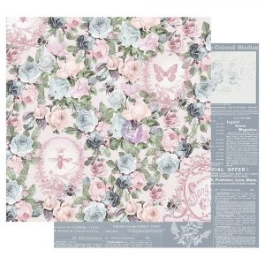 Poetic Rose 12x12 Sheet - Royal Command