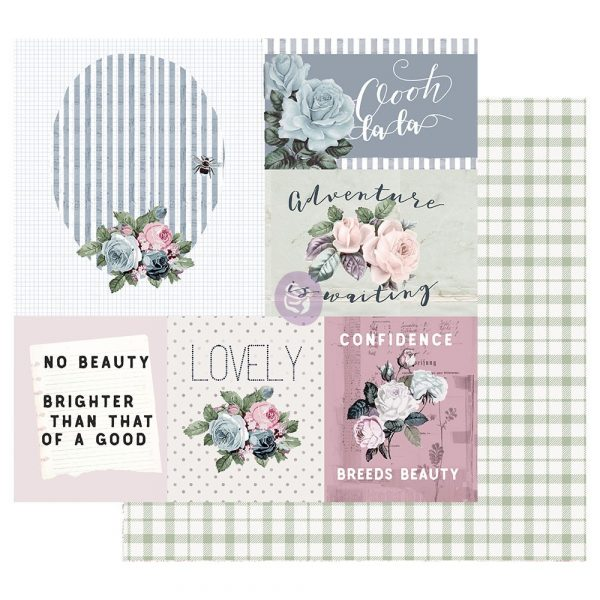 Poetic Rose 12x12 Sheet - Mixed Feelings