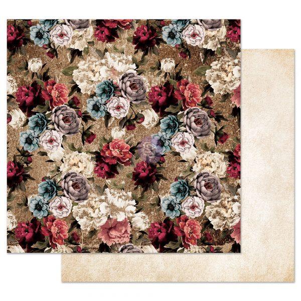 Midnight Garden 12x12 Sheet - More roses please