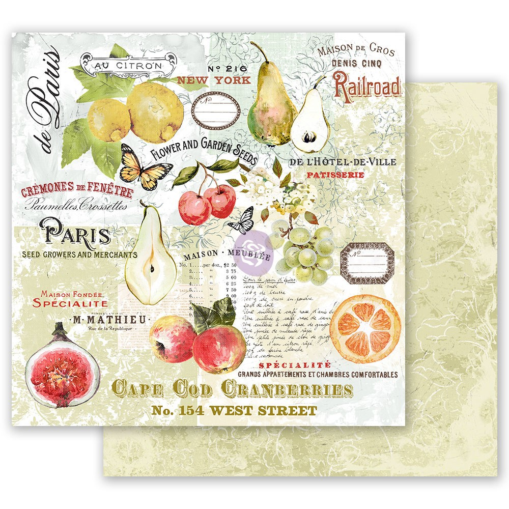 Fruit Paradise 12x12 Sheet - The Special