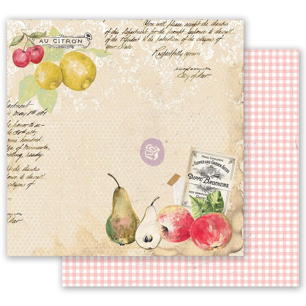 Fruit Paradise 12x12 Sheet - Sweet And Citrus