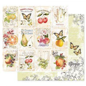 Fruit Paradise 12x12 Sheet - Fruit Lover