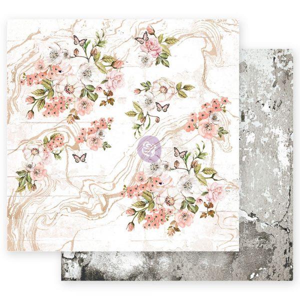 Apricot Honey - 12x12 Sheet - Tiny Blossoms