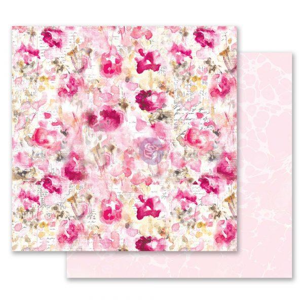 Misty Rose 12x12 Paper - Scattered Dreams