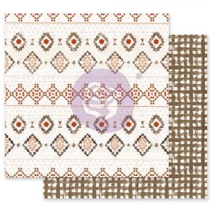 Golden Desert Collection 12x12 Sheet - Rugs on Rugs - 1 sheet w/ foil details