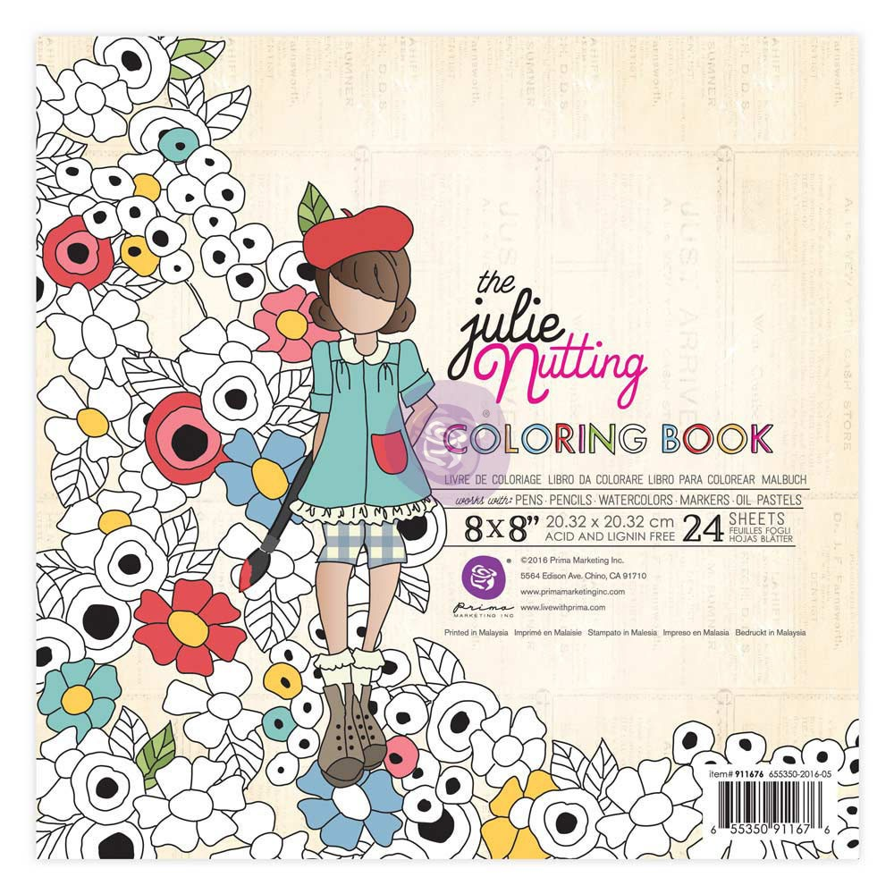 Julie Nutting Coloring Book