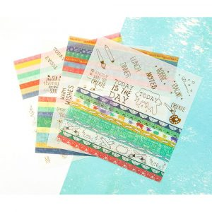 JN Planner Embellishents - Washi Sheets