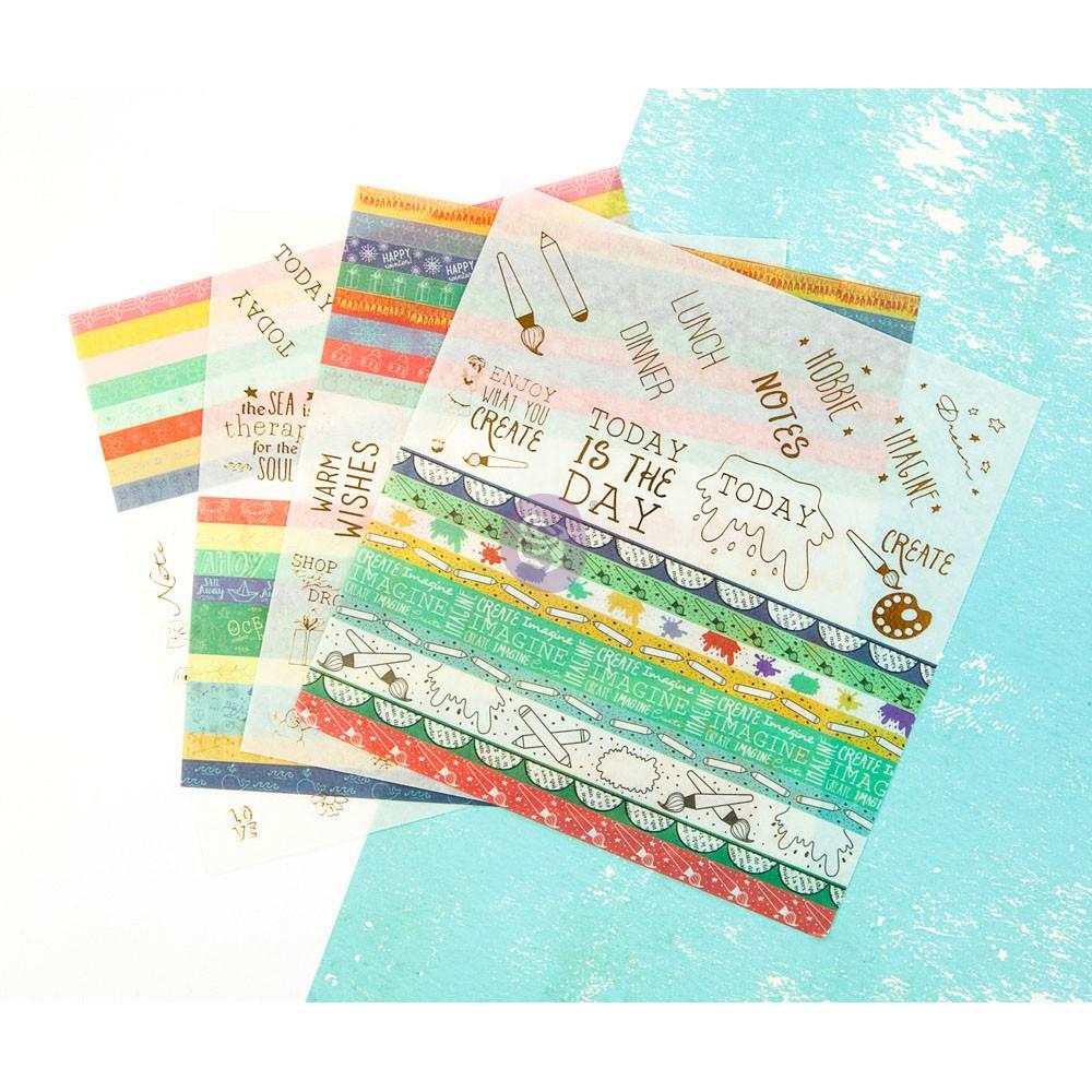 JN Planner Embellishents - Washi Sheets