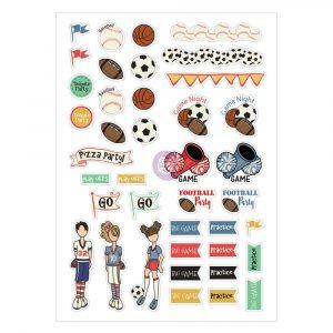 JN Planner Sport Stickers