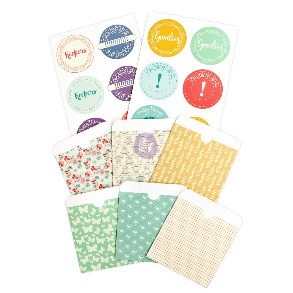 JN Planner Pocket & Labels