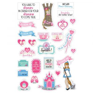JN Planner Stickers - Fairytales