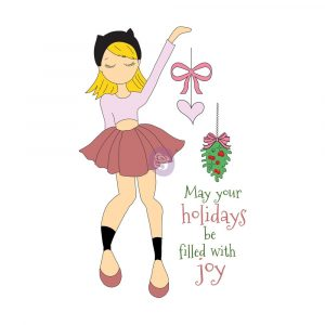 JN Christmas Stamp Joy Doll