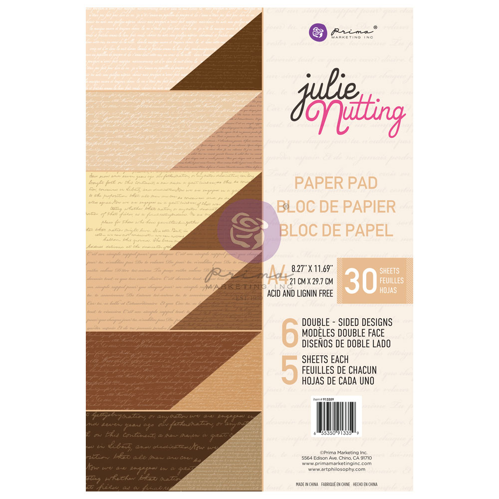 Julie Nutting Skin Tones A4 Paper Pad - 30 sheets