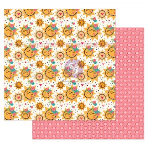 """Julie N Solecito Collection 12x12 Sheet - Solecito - 1 sheet, 12""""x12"""" with foil detail"""