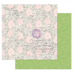 """Julie N Solecito Collection 12x12 Sheet - Flower Wall - 1 sheet, 12""""x12"""" with foil detail"""