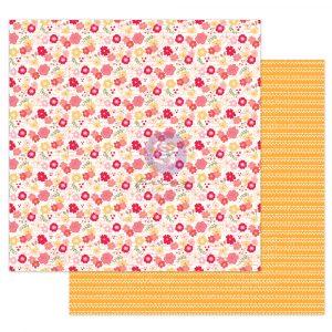 "Julie N Solecito Collection 12x12 Sheet - Florecitas - 1 sheet, 12""x12"" with foil detail"