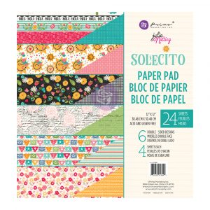 Julie N Solecito Collection 12x12 Pad - 24 sheets