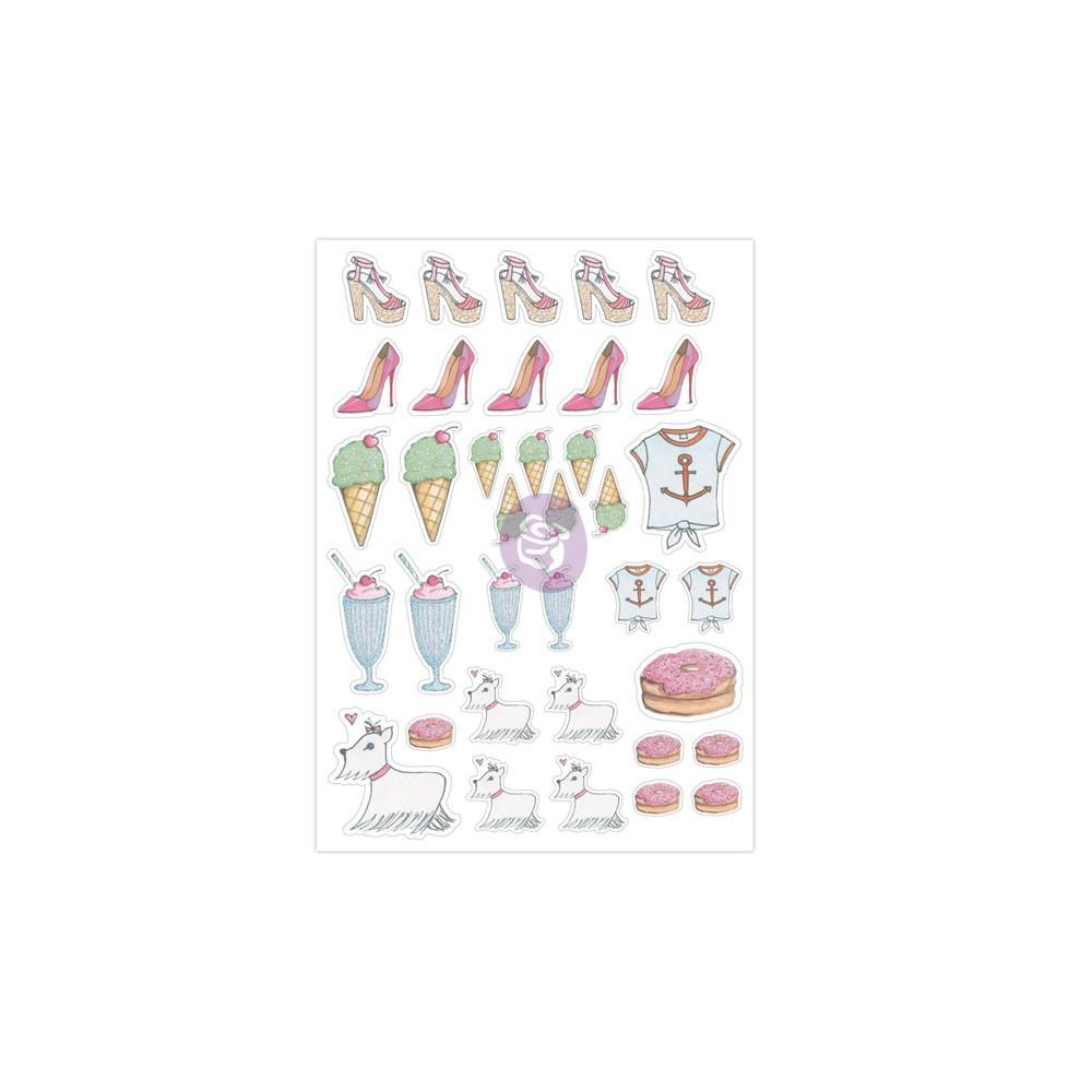 "Josefina Planner Stickers ""Shopoholic"""