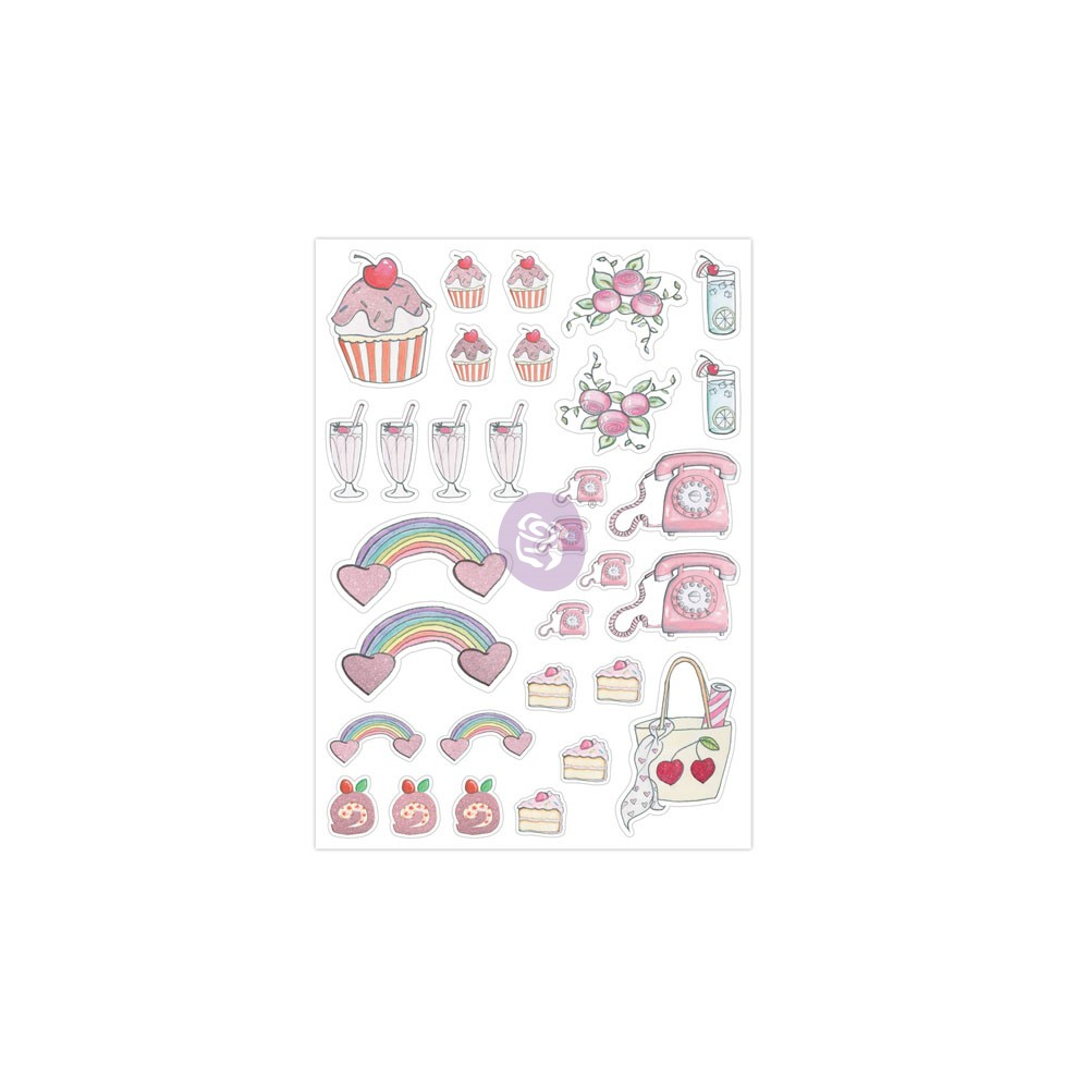 "Josefina Planner Stickers ""Diamond Girl"""