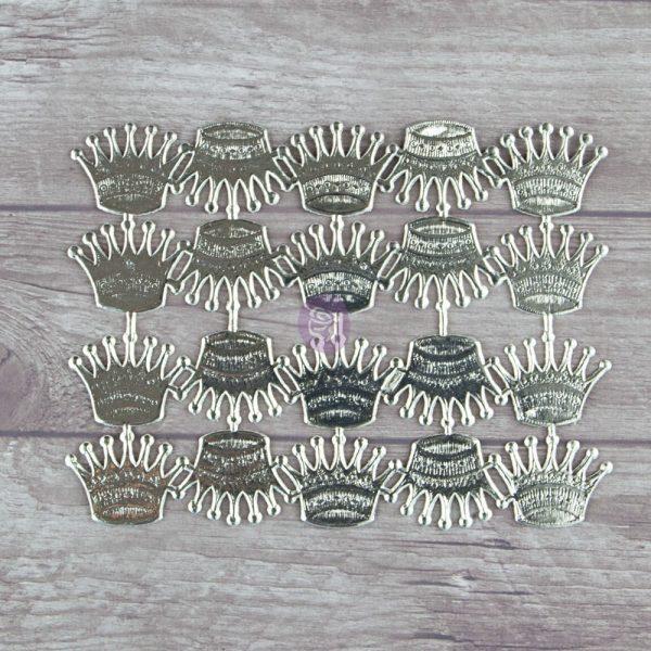 Dresden- Trumpet Crown Silver