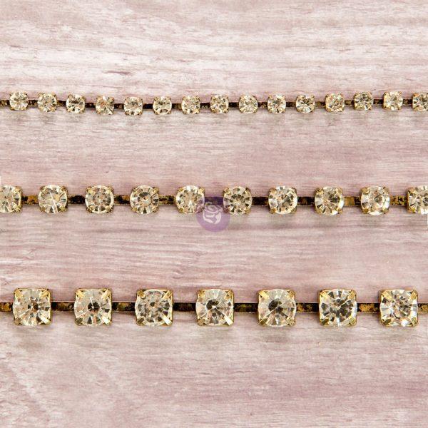 Rhinestone Chain pack - Diamond