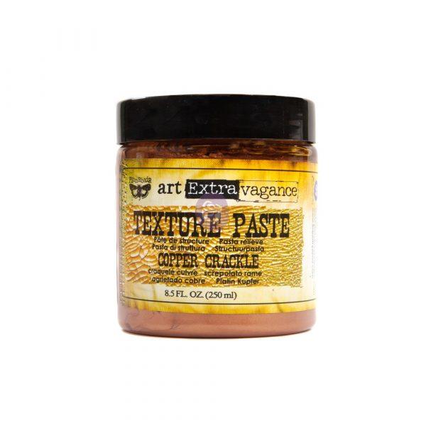 Art Extravagance- Texture Paste - Copper Crackle 8.45oz (250ml)