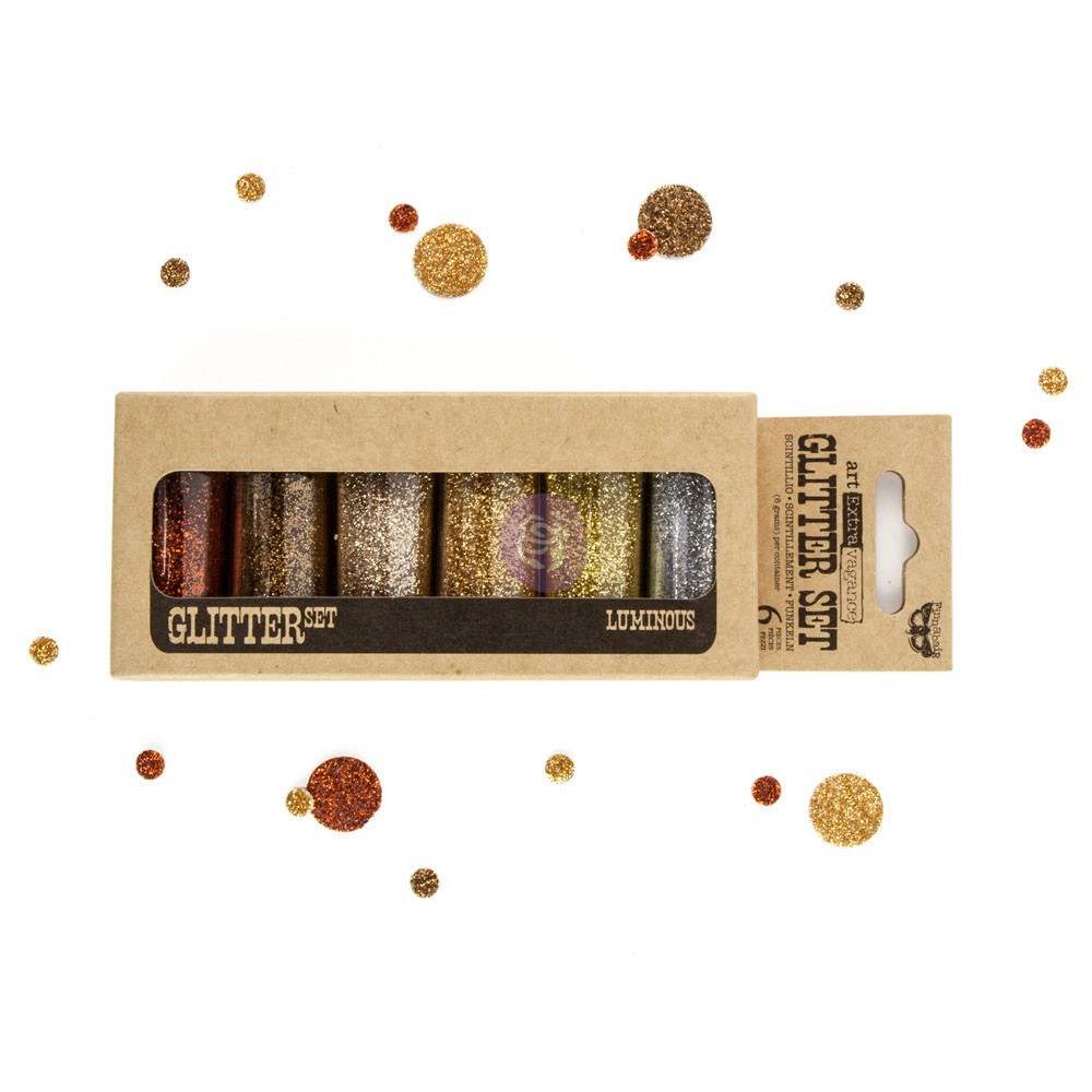 Art Ingredients - Glitter Set - Luminous