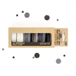 Art Ingredients - Glitter Set - Ebony & Ivory