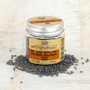 Art Ingredients-Glass Beads: Zinc 56g