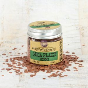 Art Ingredients-Mica Flakes: Henna 28g