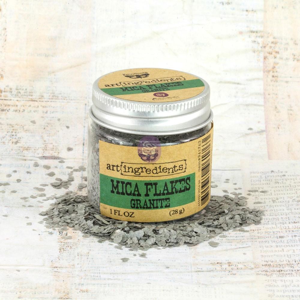 Art Ingredients-Mica Flakes: Granite 28g