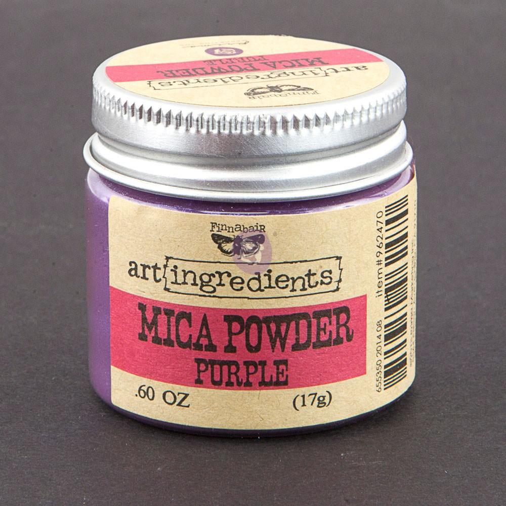 Art Ingredients-Mica Powder: Purple 17g
