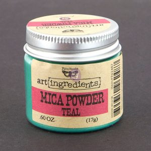 Art Ingredients-Mica Powder: Teal 17g