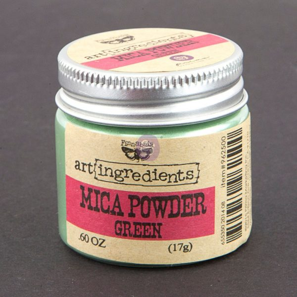 Art Ingredients-Mica Powder: Green 17g
