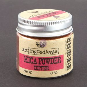 Art Ingredients-Mica Powder: Copper 17g