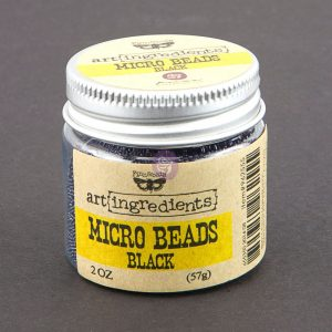 Art Ingredients-Micro Beads: Black 57g