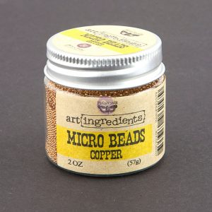 Art Ingredients-Micro Beads: Copper 57g