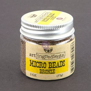 Art Ingredients-Micro Beads: Bronze 57g