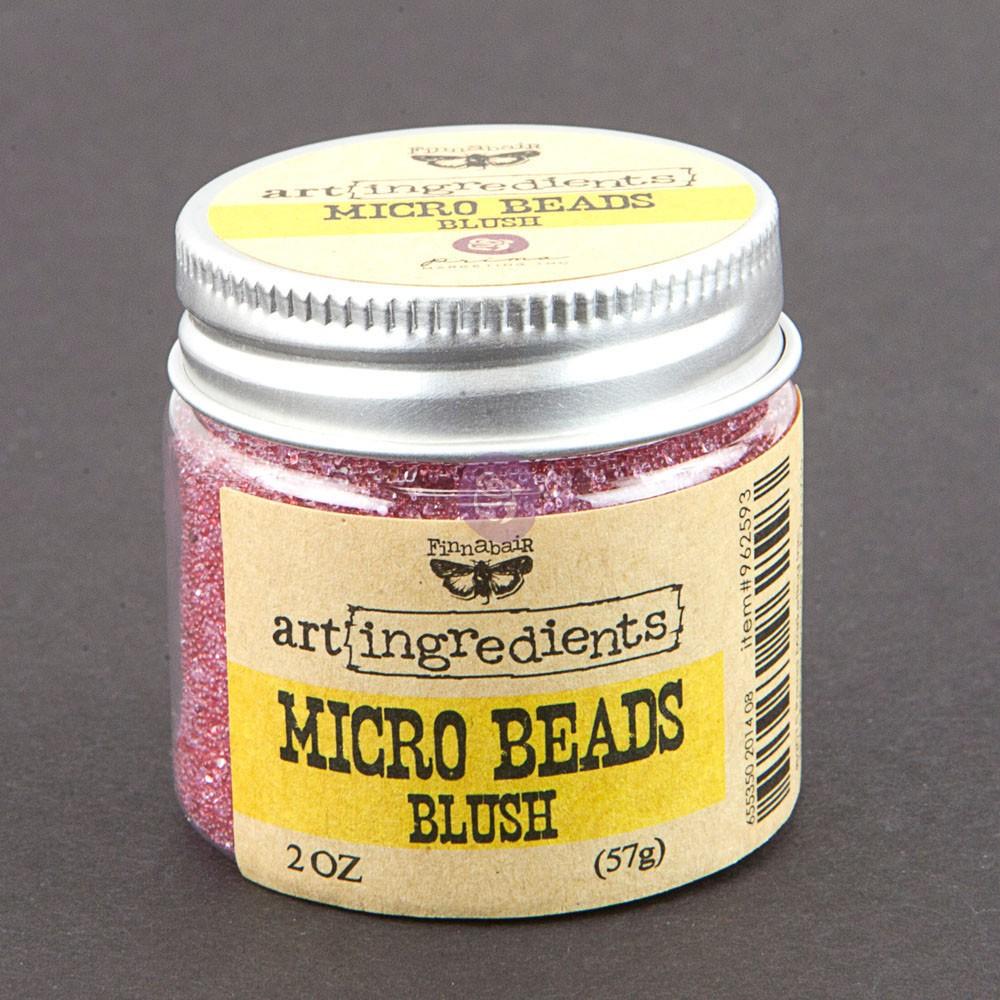 Art Ingredients-Micro Beads: Blush 57g