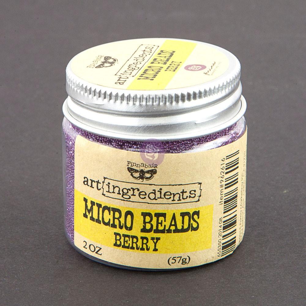 Art Ingredients-Micro Beads: Berry 57g