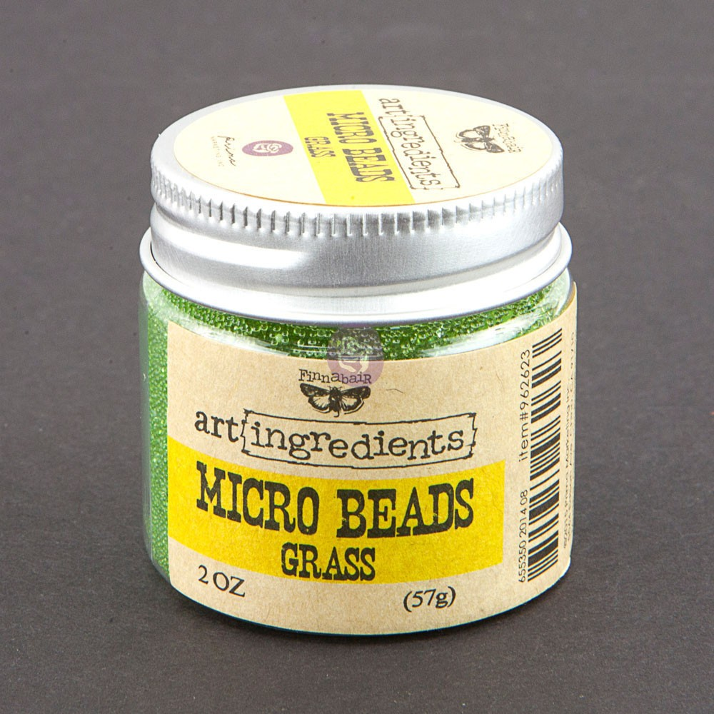 Art Ingredients-Micro Beads: Grass 57g