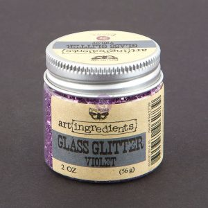 Art Ingredients-Glass Glitter: Violet 56g