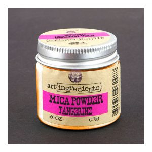 Art Ingredients-Mica Powder: Tangerine 17g