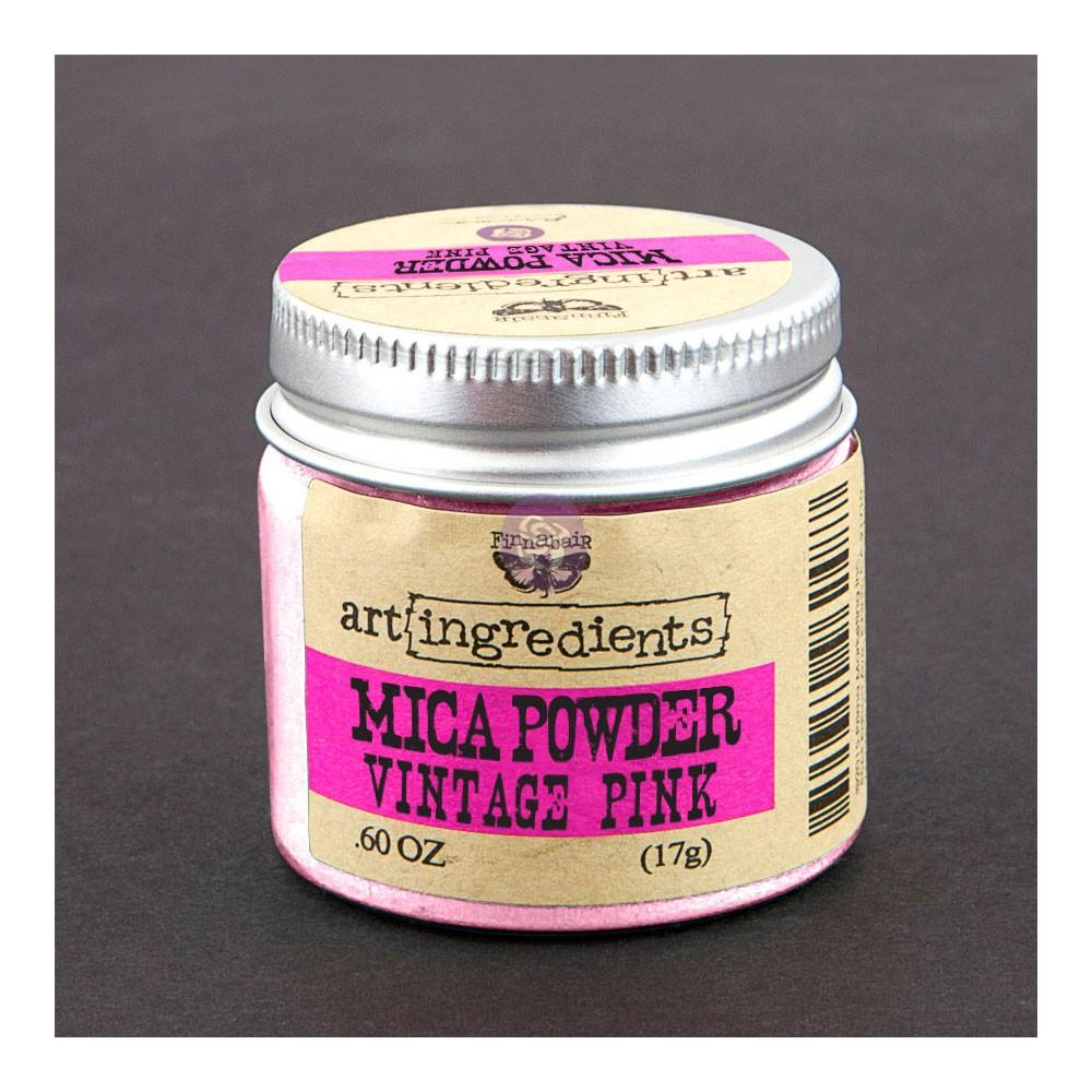 Art Ingredients-Mica Powder: Vintage Pink 17g