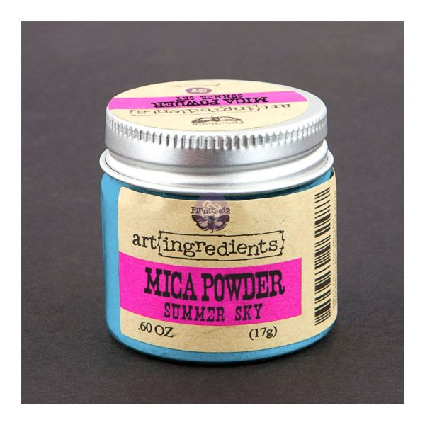Art Ingredients-Mica Powder: Summer Sky 17g