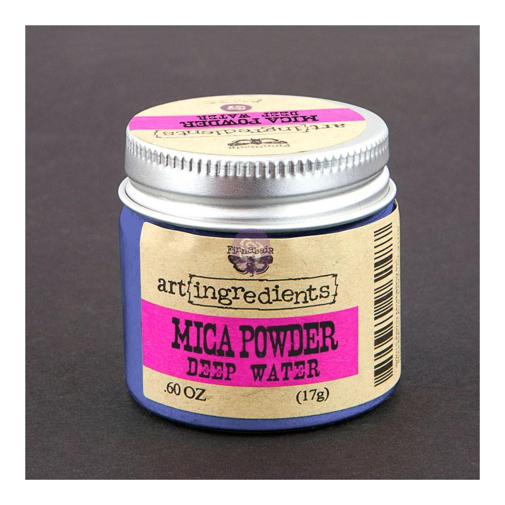 Art Ingredients-Mica Powder:Deep Water 17g