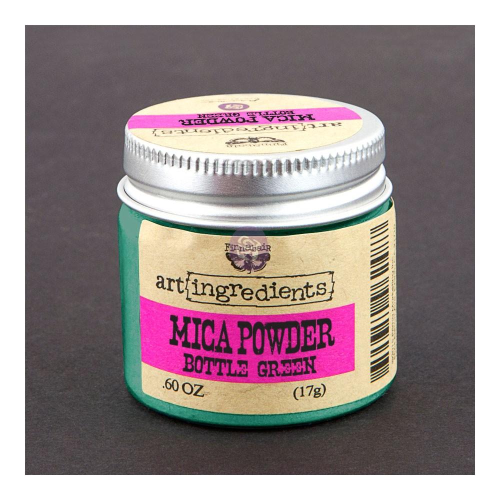 Art Ingredients-Mica Powder: Bottle Green 17g