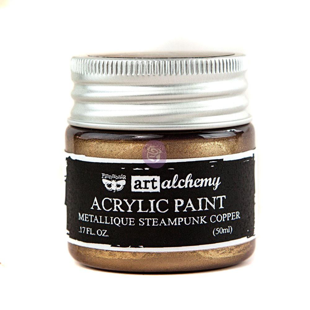 Art Alchemy-Acrylic Paint-Metallique Antique Copper 1.7oz