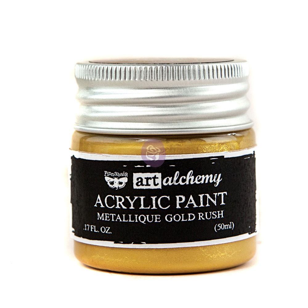 Art Alchemy-Acrylic Paint-Metallique Gold 1.7oz